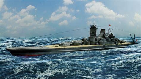 japanese battleship musashi  model fbx ma mb cgtradercom