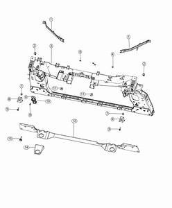 2017 Jeep Renegade Screw   Front End Parts Module