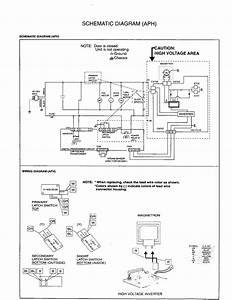 Schematic Diagram  Aph  Diagram  U0026 Parts List For Model