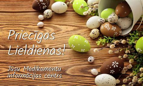 Priecīgas Lieldienas! | Medikamentu Informācijas Centrs