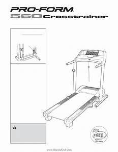 Proform 560 Cross Trainer Treadmill