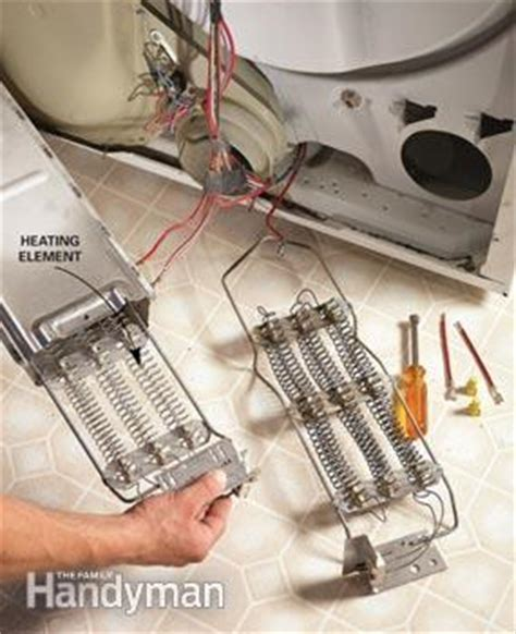 Fuse Box Washer And Dryer by Clothes Dryer Repair Guide The Family Handyman