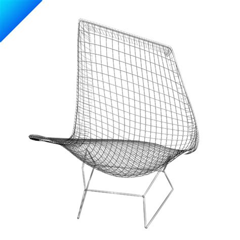 chaise bertoia blanche 3d bertoia asymmetric chaise knoll furniture
