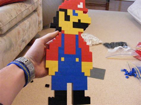 Lego Mario By Mhalse On Deviantart