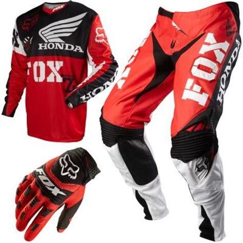 motocross gear combos fox racing 360 honda men s combo 257 85 mx gear