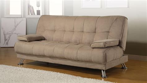 futon with armrest convertible sofa bed removable armrests from coaster