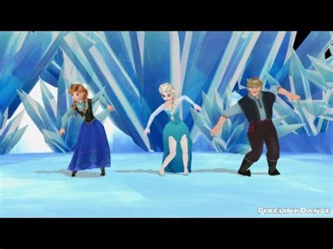 frozen gangnam style mmd youtube  lyrics