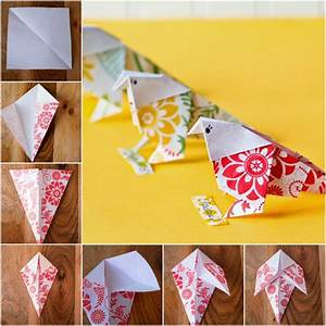 Bricolage Facile En Papier : 1001 id es de bricolages pour apprendre l 39 art de pliage ~ Mglfilm.com Idées de Décoration