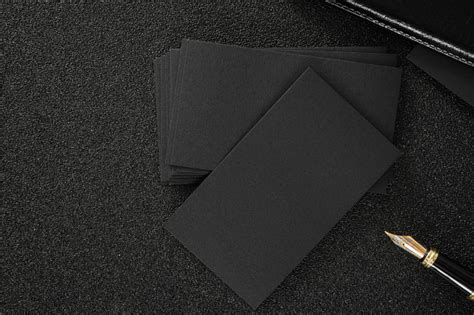 hd exclusive black background design  business card