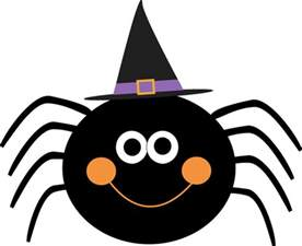 spider wearing witches hat clip spider wearing witches hat image