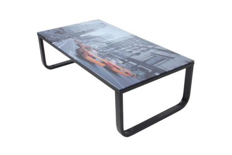 bureau table verre table basse palette avec verre ezooq com