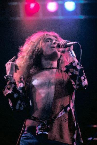Robert Plant LED Zeppelin 1975