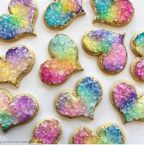 Geode cookies are all the rage on Instagram Daily Mail