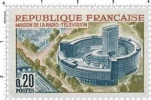 Poste Radio Maison : timbre 1963 maison de la radio t l vision wikitimbres ~ Premium-room.com Idées de Décoration