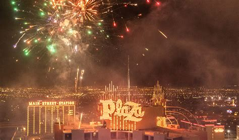 Independence Day Fireworks - Plaza Hotel and Casino