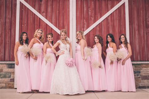 Barn Wedding Bridesmaid Dresses by Country Barn Wedding Rustic Wedding Chic
