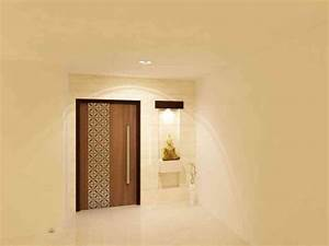 The, Main, Door, Design, Is, Both, Somber, And, The, Wooden, Finish, Appealing