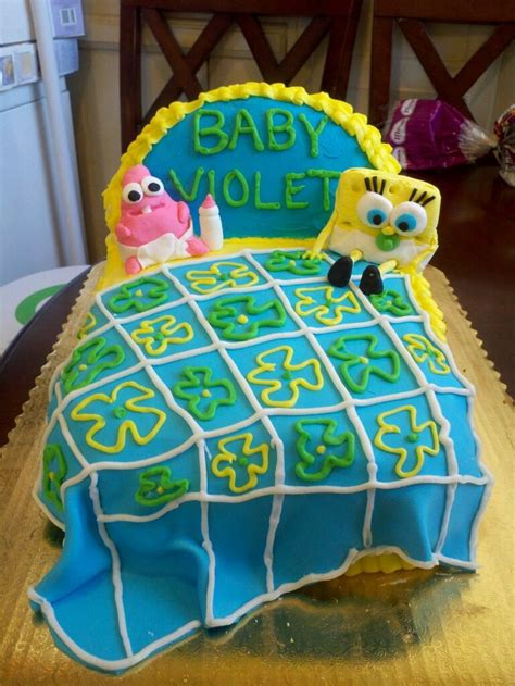 spongebob baby shower
