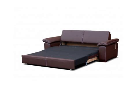 but canapé convertible 3 places canapé convertible cuir pu 3 places dolce blanc chocolat