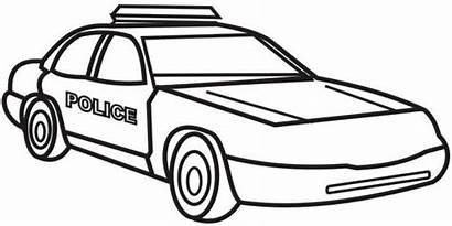 Coloring Police Pages Officer Colouring Printable Cars