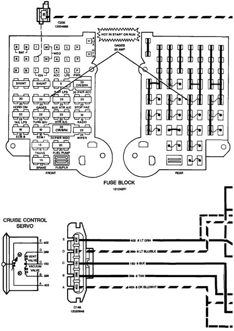 1989 Chevy 10 Wiring Diagram by 1989 Chevy G10 Fuse Box Diagrams Auto Wiring Diagram
