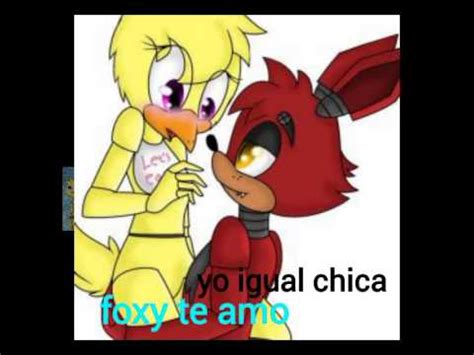 foxy y mangle comic part2