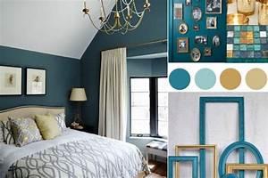 chambre bleu canard avec quelle couleur accords classe With bleu canard avec quelle couleur 0 bleu canard avec quelle couleur pour un interieur deco