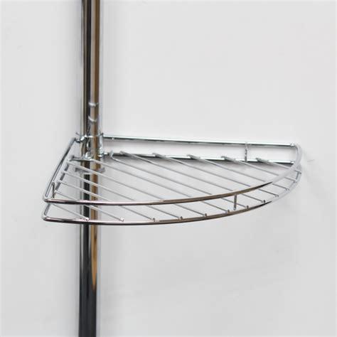 shower corner shelf metal corner shower bathroom tidy basket caddy shelf