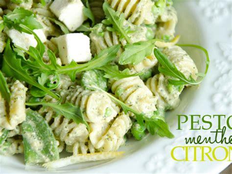 salade de p 226 tes pesto menthe citron par turbigo gourmandises