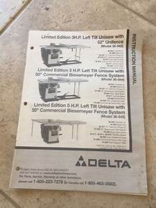 Manuals And Guides 171208  Delta Limited Edition 3 Hp Left