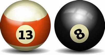 Ball Pool Billiards Clipart Clip Balls Billiard