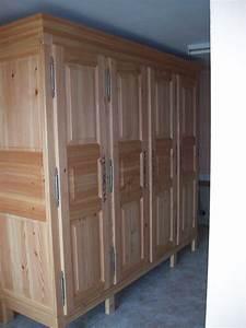 Fabriquer Meuble Bois : meuble en bois de charpente ~ Voncanada.com Idées de Décoration