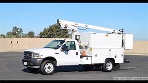 2002 Ford Telsta A28d 33 U0026 39  Splicer Bucket Truck