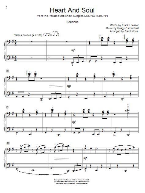 Heart of courage piano sheet music. Heart And Soul | Sheet Music Direct