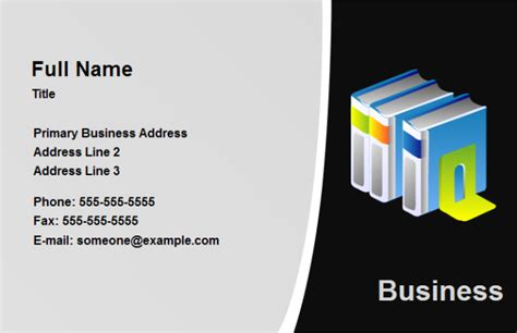 Free Business Card Education
