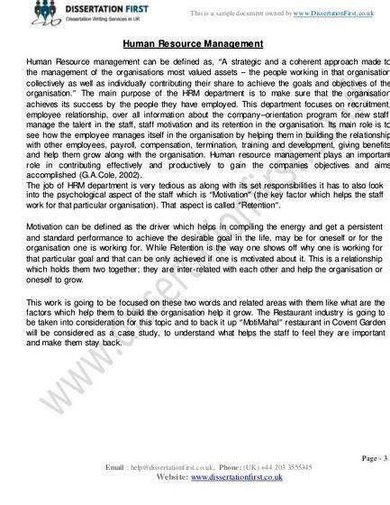 write undergraduate dissertation proposal