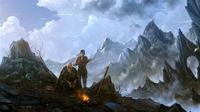 Rpg Fantasy Dungeon Warrior Dark Fighting Diablo