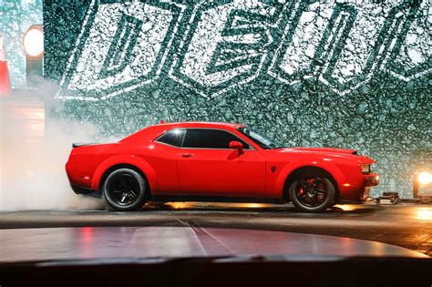 2018 Dodge Challenger Srt Demon Gets Its Own Insurance