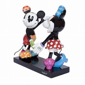 Mickey Und Minnie Mouse : figur minnie mouse mickey mouse liebespaar romero britto disney ~ Eleganceandgraceweddings.com Haus und Dekorationen