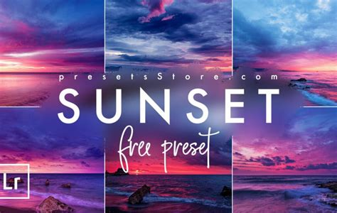 Free, no purchase necessary, lightroom preset for the outdoors delivered directly to your inbox. Sunset   Free Lightroom Preset - Presets Store