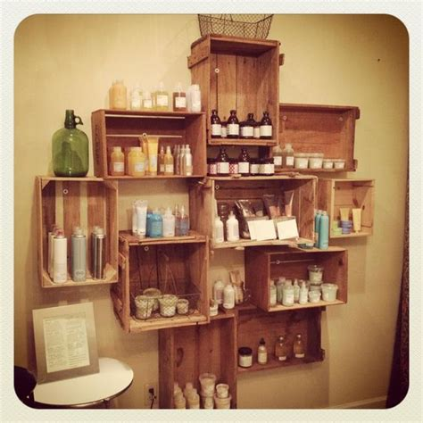 Vintage Salon Decor Ideas Product Shelf Davines Alli Salon Conyers