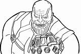 Avengers Coloring Thanos Glove Gauntlet Infinity Pdf Save sketch template