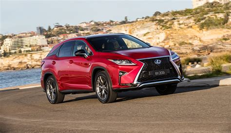 Lexus Is F 0 60 by 2017 Lexus Rx 200t F Sport Launched In Australia Does 0