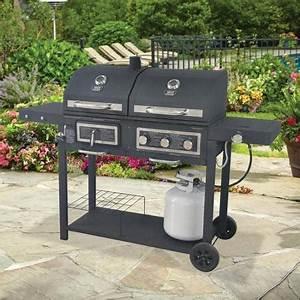 Burger Grillen Gasgrill Temperatur : durable outdoor barbeque burger gas charcoal grill combo comes with a chrome plated warming ~ Eleganceandgraceweddings.com Haus und Dekorationen