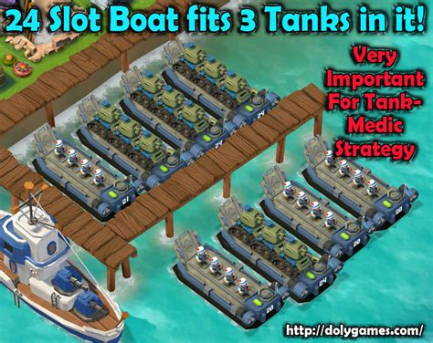 Boom Beach Boat by Go For 3 Tanks Per Boat Boom Beach Dolygames