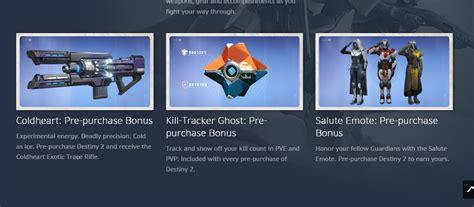 Help: Destiny 2: Beyond Light Editions and Pre-order Bonuses