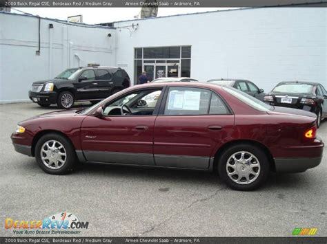 Buick Regal Gse by 2000 Buick Regal Gse Bordeaux Medium Gray Photo 9