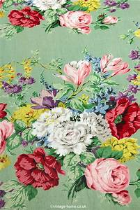 Vintage Floral Fabric | www.imgkid.com - The Image Kid Has It!