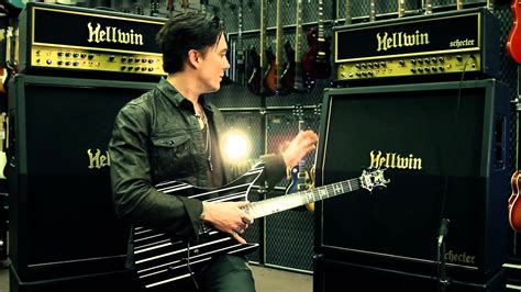 Synyster Gates Schecter Hellwin Signature Amp At