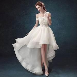 short wedding dresses vestidos de novia 2015 wedding With short long wedding dresses